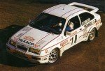 Kalle Grundel Ford Sierra Cosworth Monté Carlo 1987